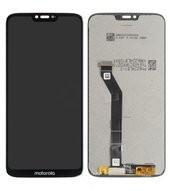 LCD + Touch für XT1955 Motorola Moto G7 Power - black