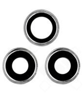 Main Camera Lens + Bezel für Apple iPhone 11 Pro, 11 Pro Max - silver