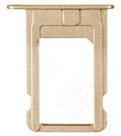 SIM Tray für iPhone 5S, SE - gold