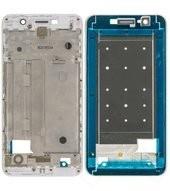 LCD Frame white für Huawei Y6 II L21