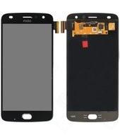 LCD + Touch für XT1710-09 Motorola Moto Z2 Play Dual - lunar grey