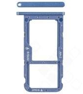 SIM / SD Tray für (ANE-L21) Huawei P20 lite Dual - klein blue