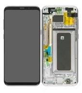 LCD + Touch für G955F Samsung Galaxy S8+ - arctic silver