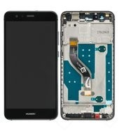 Display (LCD + Touch) + Frame für WAS-LX1, LX1A Huawei P10 Lite - black