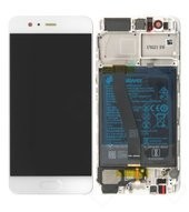 Display (LCD + Touch) + Battery für (VTR-L29) Huawei P10 - gold