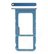 SIM / SD Tray für (LLD-L31) Honor 9 Lite - sapphire blue