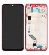 LCD + Touch + Frame für Xiaomi Redmi Note 7 - red
