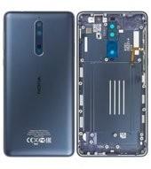 Battery Cover für (TA-1004) Nokia 8 DUAL - tempered blue