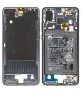Main Frame + Battery für EML-L29 Huawei P20 Dual - black