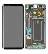 LCD + Touch für G960F, G960FD Samsung Galaxy S9, S9 Duos - titanium grey