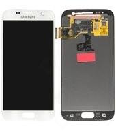 LCD + Touch für G930F Samsung Galaxy S7 - white