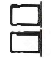 MicroSD + SIM Tray black für Huawei Ascend G7