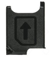 SIM Tray für D6502,D6503 Sony Xperia Z2 - black