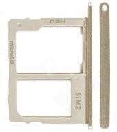 SIM Tray für J600F Samsung Galaxy J6 Dual - gold