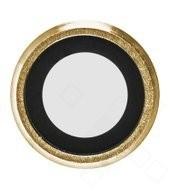 Camera Bezel + Lens für Apple iPhone 6, 6s - gold