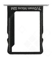 SIM Tray für ALE-L21 Huawei P8 Lite - white