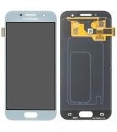 Display (LCD + Touch) für A320F Samsung Galaxy A3 2017 - blue