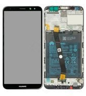 Display (LCD + Touch) + Frame + Battery für RNE-L01, RNE-L21 Huawei Mate 10 Lite, Mate 10 Lite - bla