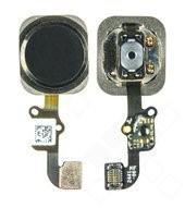 Home Button + Flex für Apple iPhone 6, 6 Plus - black