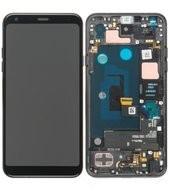 Display (LCD + Touch) + Frame für LMQ610 LG Q7+ - aurora black