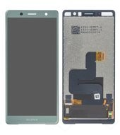 LCD + Touch + Frame für H8314, H832 Sony Xperia XZ2 Compact Dual - moss green