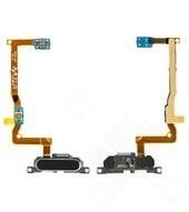 Home Button + Flex black für Samsung G850F Galaxy Alpha