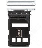 SIM Tray für ELS-NX9, ELS-N04 Huawei P40 Pro - silver frost, ice white