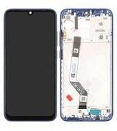 Display (LCD + Touch) + Frame für Xiaomi Redmi Note 7 - blue