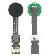 Fingerprint Sensor + Flex für H8216, H8266, H8314, H8324 Sony Xperia XZ2, XZ2 Compact - liquid black