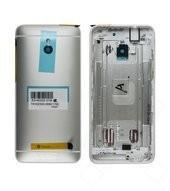 Akkufachdeckel / Backcover silver für HTC One mini M4 OEM