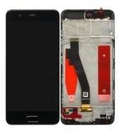 Display (LCD + Touch) + Frame für (VTR-L29) Huawei P10 - black