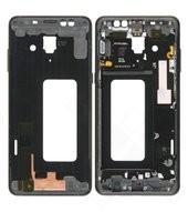 Front Frame für (A730F), (A730F/DS) Samsung Galaxy A8+ (2018) - black