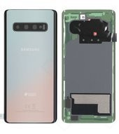 Battery Cover für G973F Samsung Galaxy S10 DUOS - silver