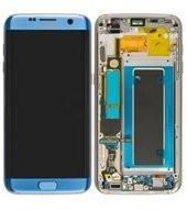 LCD + Touch für G935F Samsung Galaxy S7 Edge - coral blue