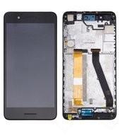 Display (LCD + Touch) + Frame black für HTC Desire 728G