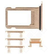 SIM Tray + Side Keys für Apple iPhone 8 Plus - gold