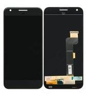Display (LCD + Touch) für G-2PW2200 Google Pixel XL - black
