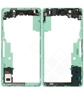 Middle Cover + Camera glass green für Sony Xperia C4, C4 Dual