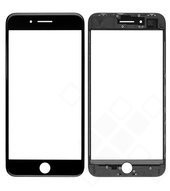 Glass Lens + Frame + OCA für Apple iPhone 8 Plus - space grey