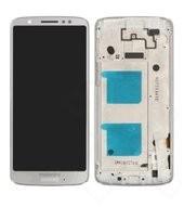 Display (LCD + Touch) + Frame für XT1925 Motorola Moto G6 - silver