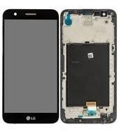 LCD + Touch + Frame für M250 LG K10 2017 - black
