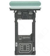 SIM Tray für H8324 Sony Xperia XZ2 Compact Dual - moos green