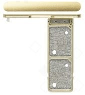 SIM Tray für G3412 Sony Xperia XA1 Plus Dual - gold