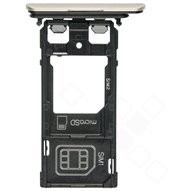 Sim tray für F8231, F8232 Sony Xperia XZs - silver