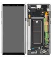 Display (LCD + Touch) + Frame für N960F Samsung Galaxy Note 9 - midnight black