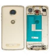 Battery Cover für XT1710-09 Motorola Moto Z2 Play Dual - fine gold