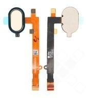 Home Button + Flex für XT1710 Motorola Moto Z2 Play - fine gold