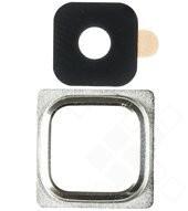 Camera Lens Ring Cover für G800F Samsung Galaxy S5 mini - silver