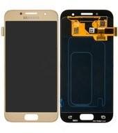 Display (LCD + Touch) für A320F Samsung Galaxy A3 2017 - gold
