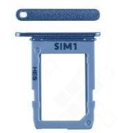 SIM Tray für A600F, A605F Samsung Galaxy A6 (2018), A6+ (2018) - blue